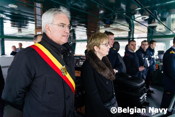 Commemoration Herald®Belgian Navy