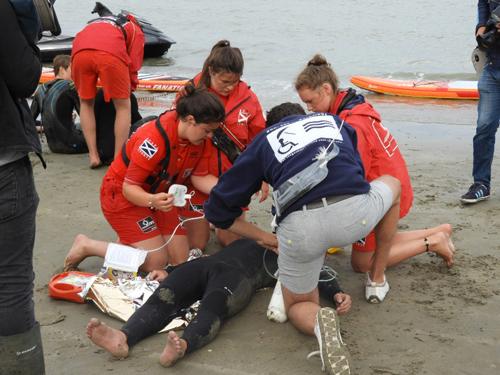 Reddingsoefening Zeebrugge 8 aug 17