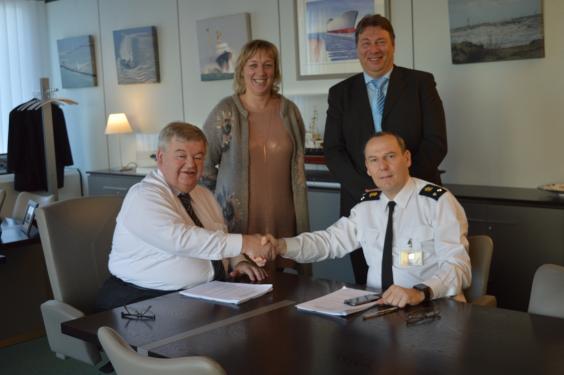 Ondertekening overeenkomsten MDK - Defensie