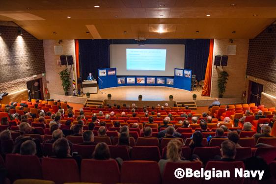 Herdenking Herald@Belgian Navy