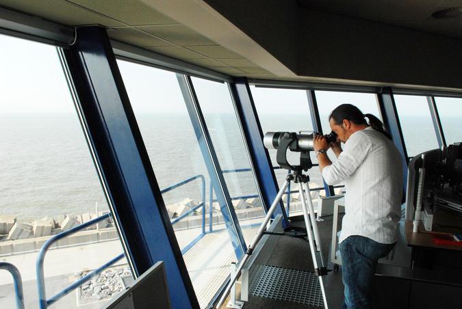 Scheepvaartbegeleiding - radarcentrale Zeebrugge