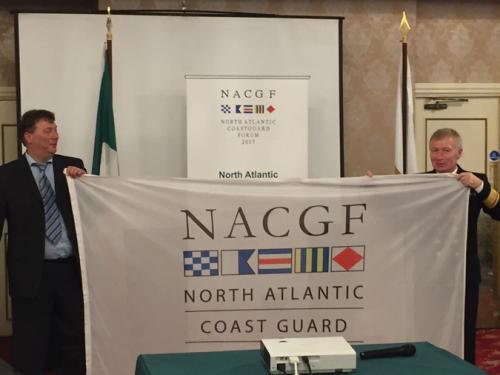 Overhandiging voorzitterschap NACGF