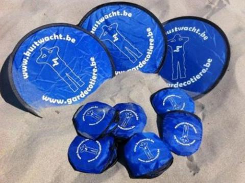 Frisbee Garde Côtière